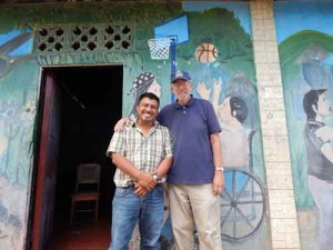 Rafael, the owner of Spanish School Nicaragua & Paul