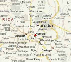 Heredia-Map