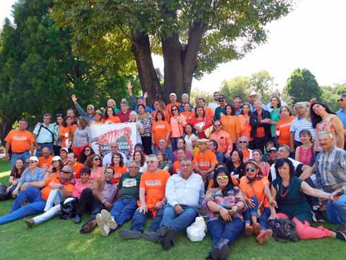 The reunion! 1970s and 1980s  alumni from University of the Americas. Can you find Paul?